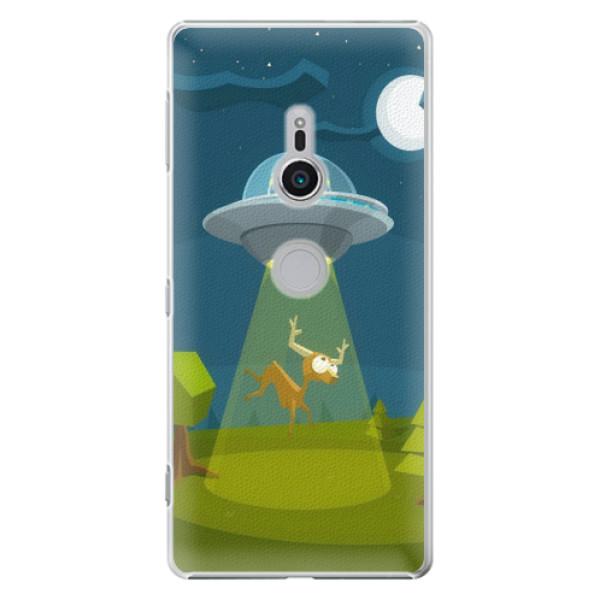 Plastové pouzdro iSaprio - Alien 01 - Sony Xperia XZ2