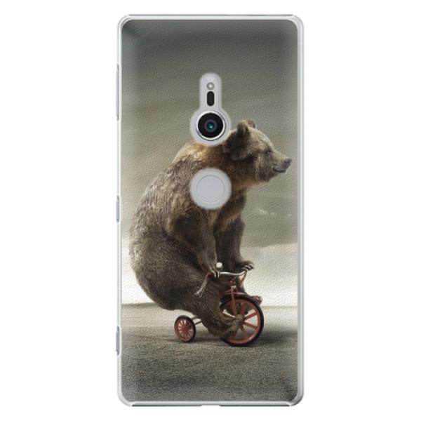 Plastové pouzdro iSaprio - Bear 01 - Sony Xperia XZ2