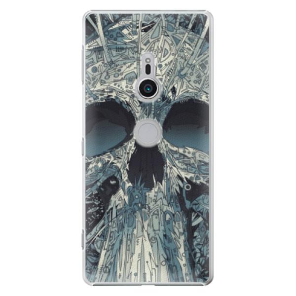 Plastové pouzdro iSaprio - Abstract Skull - Sony Xperia XZ2