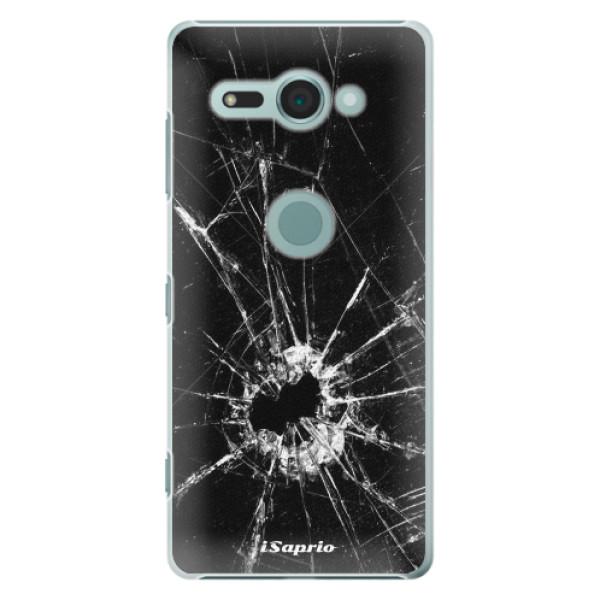 Plastové pouzdro iSaprio - Broken Glass 10 - Sony Xperia XZ2 Compact