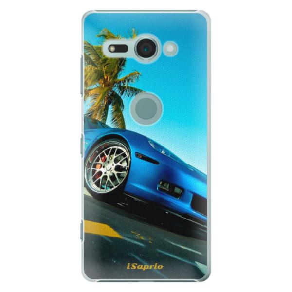 Plastové pouzdro iSaprio - Car 10 - Sony Xperia XZ2 Compact