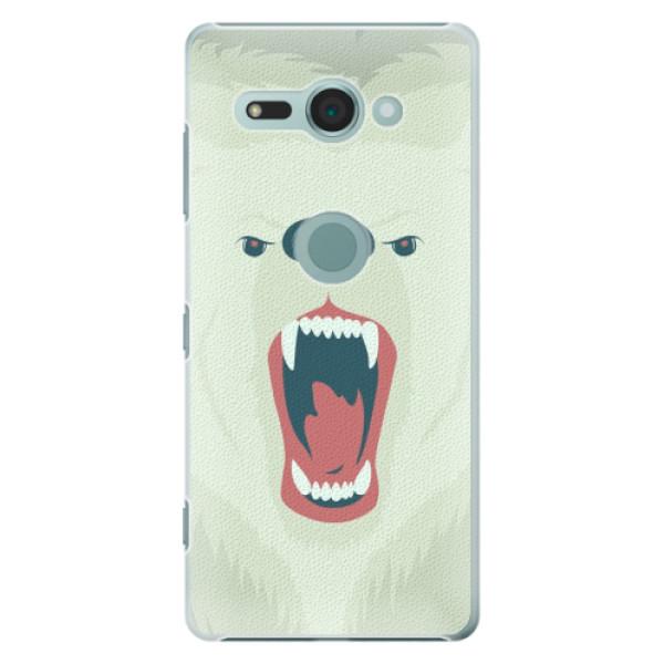 Plastové pouzdro iSaprio - Angry Bear - Sony Xperia XZ2 Compact