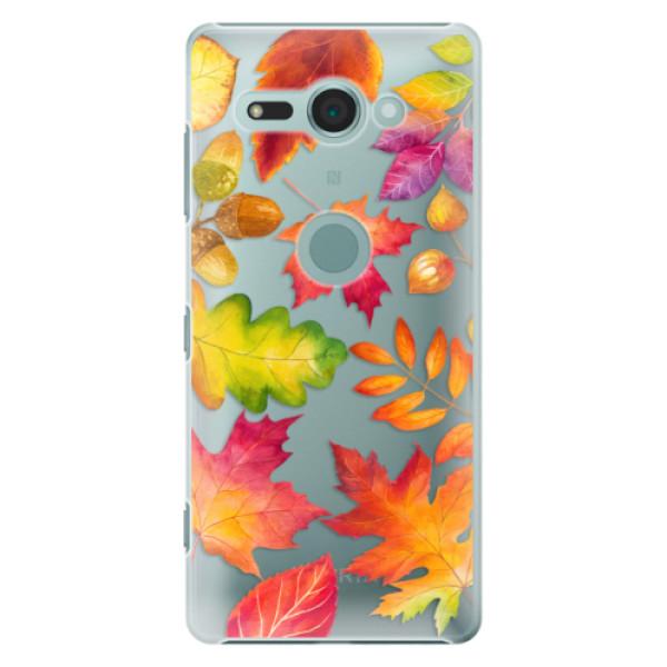 Plastové pouzdro iSaprio - Autumn Leaves 01 - Sony Xperia XZ2 Compact