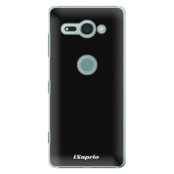 Plastové pouzdro iSaprio - 4Pure - černý - Sony Xperia XZ2 Compact