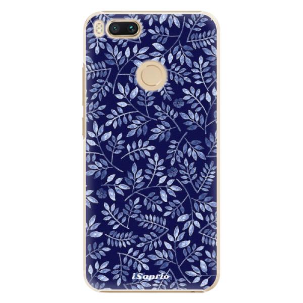 Plastové pouzdro iSaprio - Blue Leaves 05 - Xiaomi Mi A1