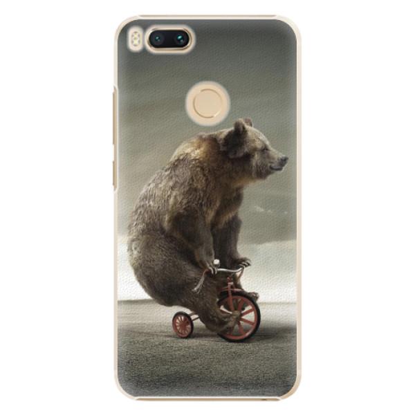 Plastové pouzdro iSaprio - Bear 01 - Xiaomi Mi A1