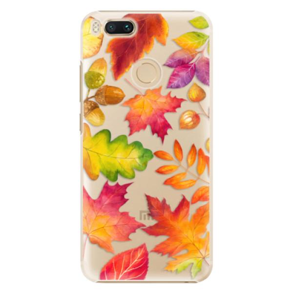 Plastové pouzdro iSaprio - Autumn Leaves 01 - Xiaomi Mi A1