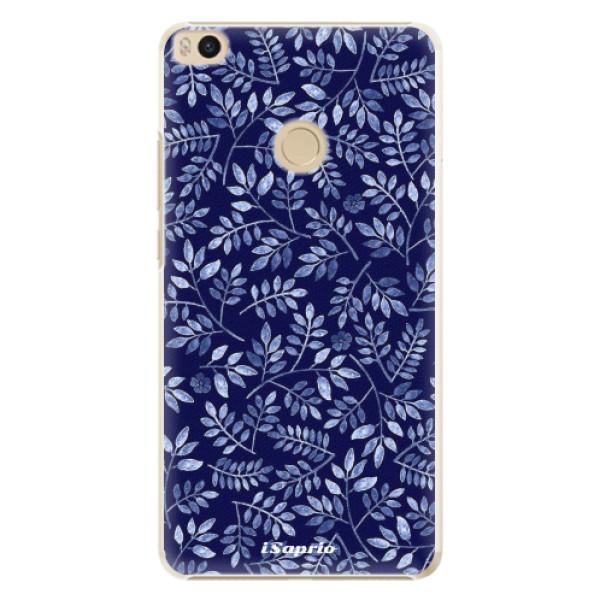 Plastové pouzdro iSaprio - Blue Leaves 05 - Xiaomi Mi Max 2