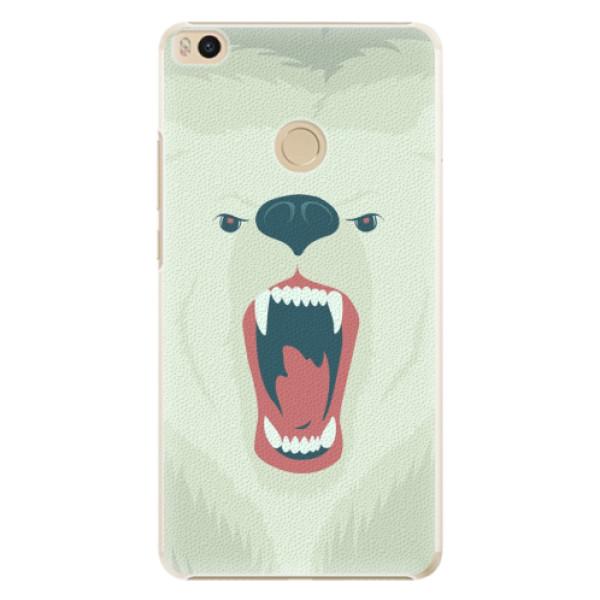 Plastové pouzdro iSaprio - Angry Bear - Xiaomi Mi Max 2