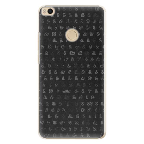 Plastové pouzdro iSaprio - Ampersand 01 - Xiaomi Mi Max 2