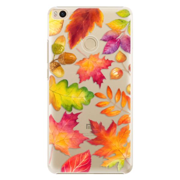 Plastové pouzdro iSaprio - Autumn Leaves 01 - Xiaomi Mi Max 2