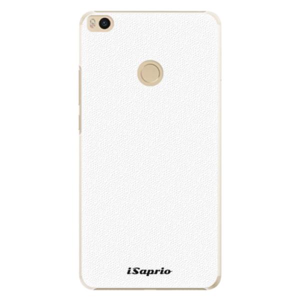 Plastové pouzdro iSaprio - 4Pure - bílý - Xiaomi Mi Max 2