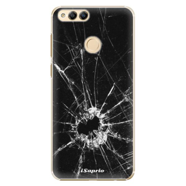 Plastové pouzdro iSaprio - Broken Glass 10 - Huawei Honor 7X