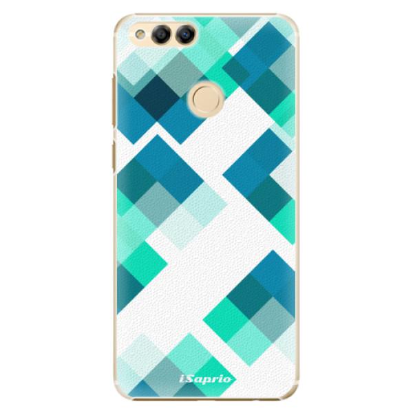 Plastové pouzdro iSaprio - Abstract Squares 11 - Huawei Honor 7X