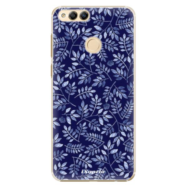 Plastové pouzdro iSaprio - Blue Leaves 05 - Huawei Honor 7X