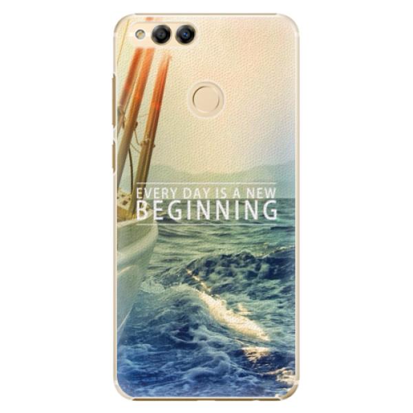 Plastové pouzdro iSaprio - Beginning - Huawei Honor 7X