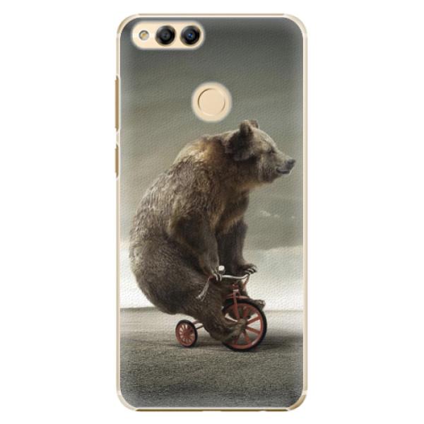 Plastové pouzdro iSaprio - Bear 01 - Huawei Honor 7X