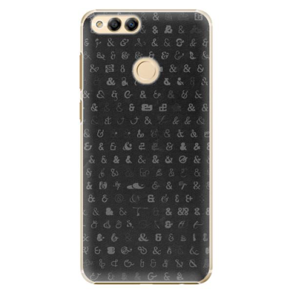 Plastové pouzdro iSaprio - Ampersand 01 - Huawei Honor 7X