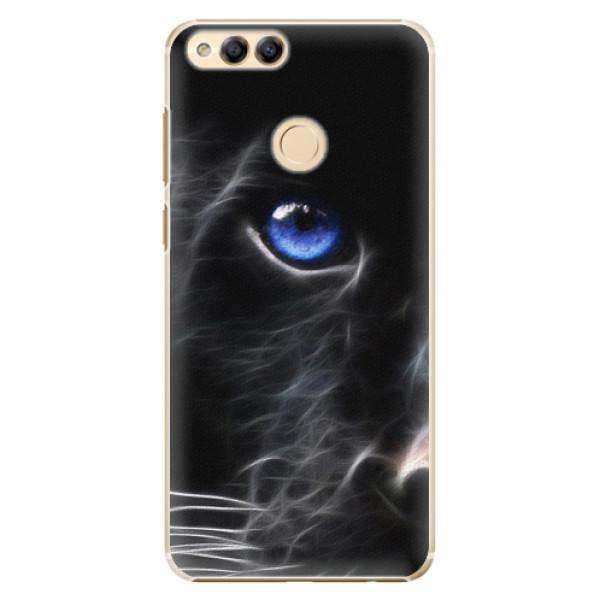 Plastové pouzdro iSaprio - Black Puma - Huawei Honor 7X