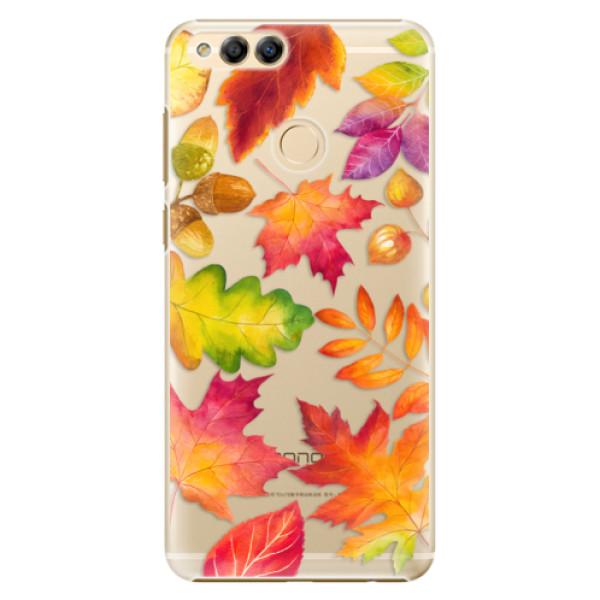 Plastové pouzdro iSaprio - Autumn Leaves 01 - Huawei Honor 7X