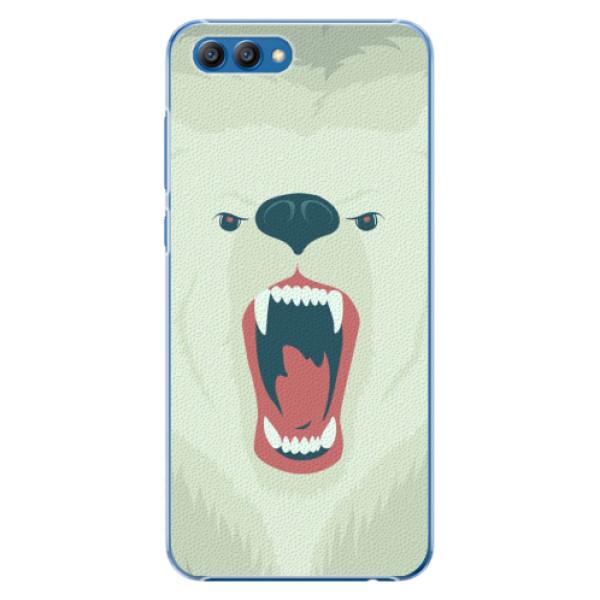 Plastové pouzdro iSaprio - Angry Bear - Huawei Honor View 10