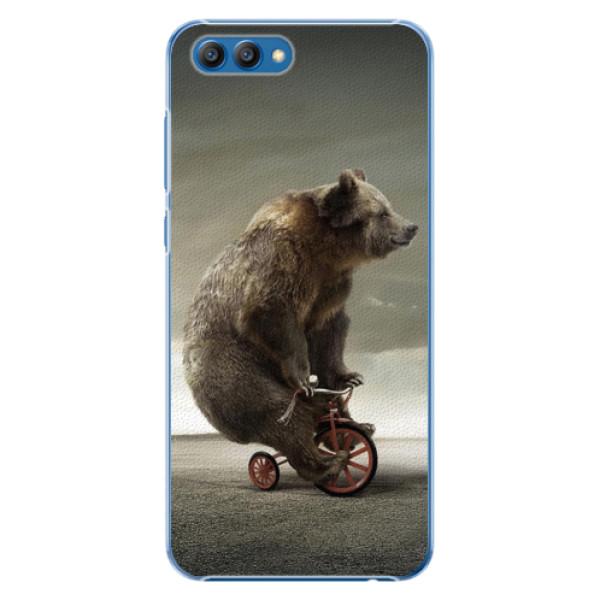 Plastové pouzdro iSaprio - Bear 01 - Huawei Honor View 10