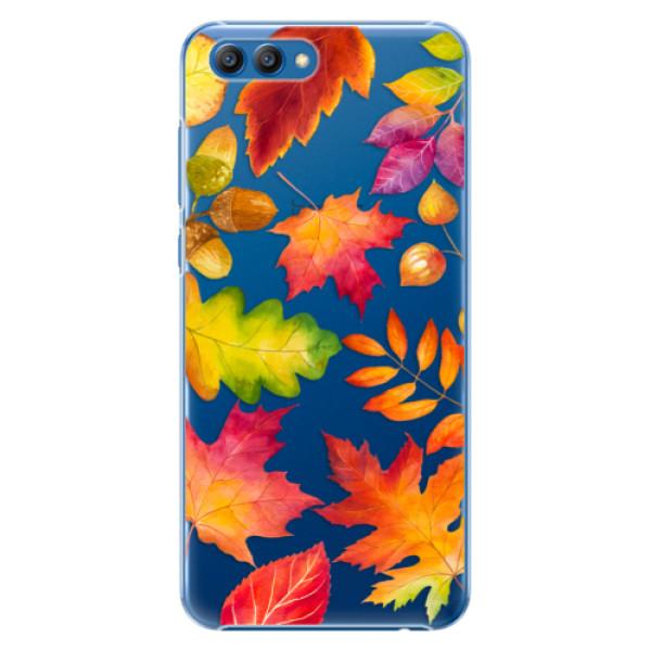 Plastové pouzdro iSaprio - Autumn Leaves 01 - Huawei Honor View 10
