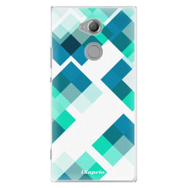 Plastové pouzdro iSaprio - Abstract Squares 11 - Sony Xperia XA2 Ultra
