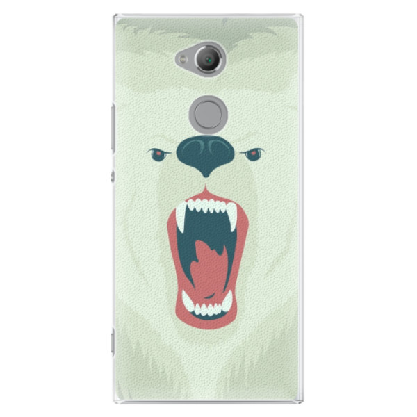 Plastové pouzdro iSaprio - Angry Bear - Sony Xperia XA2 Ultra