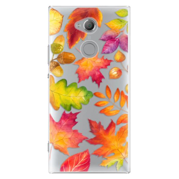 Plastové pouzdro iSaprio - Autumn Leaves 01 - Sony Xperia XA2 Ultra
