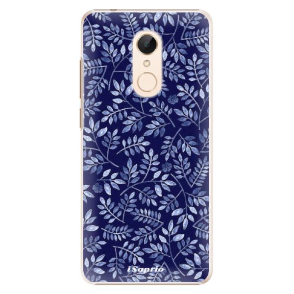 Plastové pouzdro iSaprio - Blue Leaves 05 - Xiaomi Redmi 5