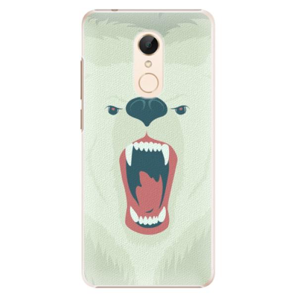 Plastové pouzdro iSaprio - Angry Bear - Xiaomi Redmi 5