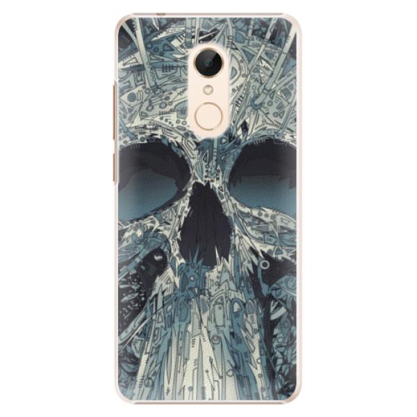 Plastové pouzdro iSaprio - Abstract Skull - Xiaomi Redmi 5