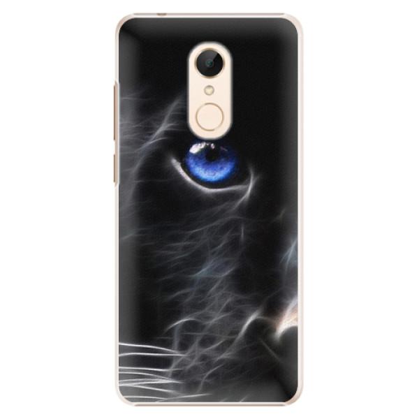 Plastové pouzdro iSaprio - Black Puma - Xiaomi Redmi 5
