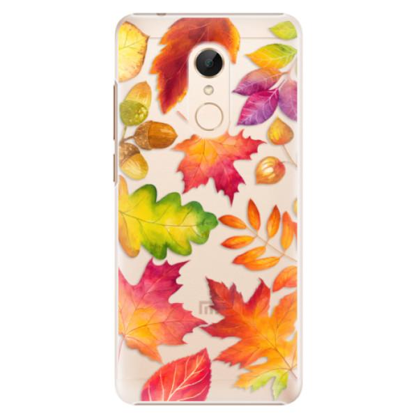 Plastové pouzdro iSaprio - Autumn Leaves 01 - Xiaomi Redmi 5