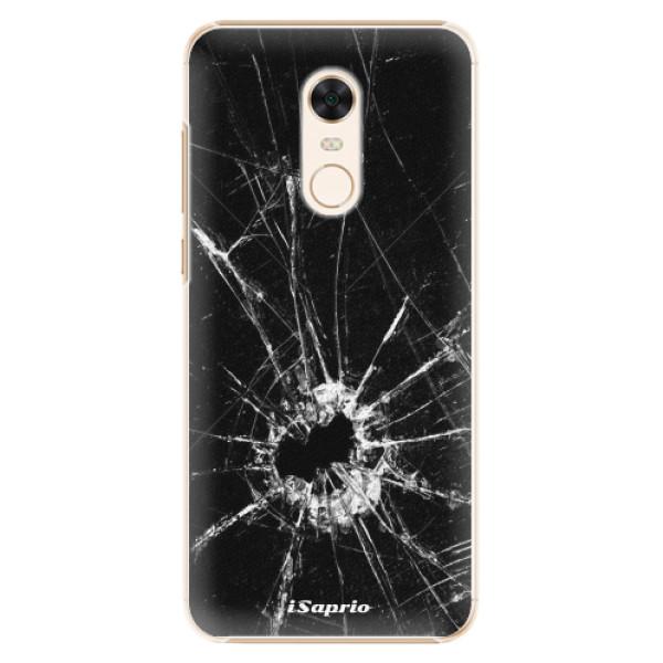 Plastové pouzdro iSaprio - Broken Glass 10 - Xiaomi Redmi 5 Plus