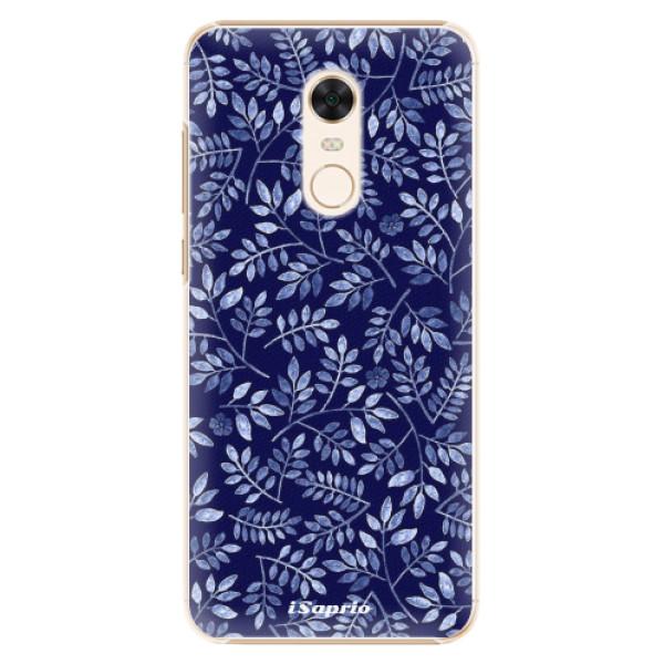 Plastové pouzdro iSaprio - Blue Leaves 05 - Xiaomi Redmi 5 Plus