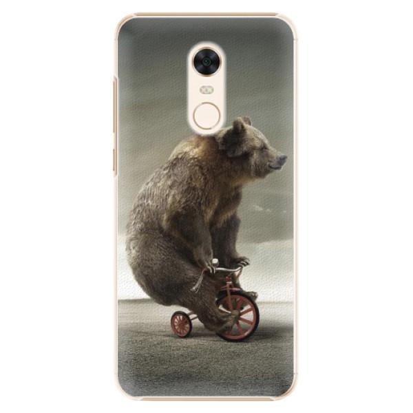 Plastové pouzdro iSaprio - Bear 01 - Xiaomi Redmi 5 Plus