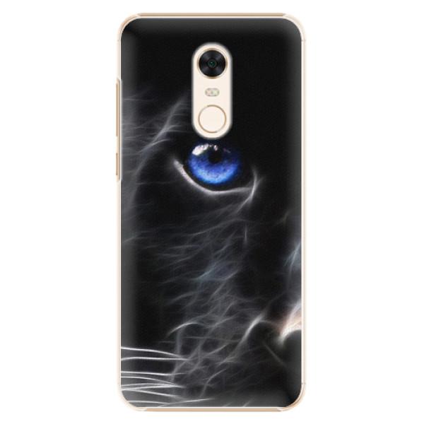 Plastové pouzdro iSaprio - Black Puma - Xiaomi Redmi 5 Plus