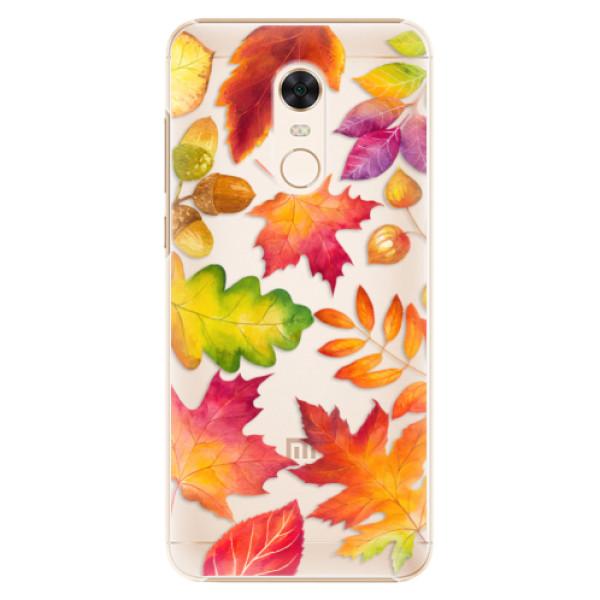 Plastové pouzdro iSaprio - Autumn Leaves 01 - Xiaomi Redmi 5 Plus