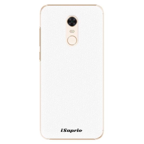 Plastové pouzdro iSaprio - 4Pure - bílý - Xiaomi Redmi 5 Plus