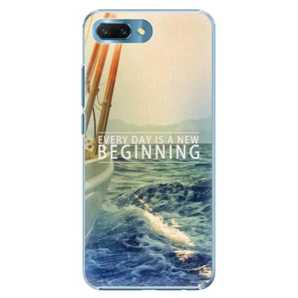 Plastové pouzdro iSaprio - Beginning - Huawei Honor 10