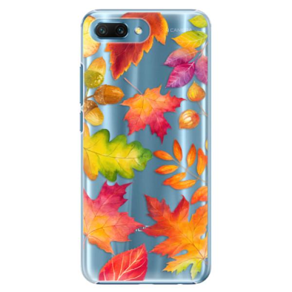 Plastové pouzdro iSaprio - Autumn Leaves 01 - Huawei Honor 10