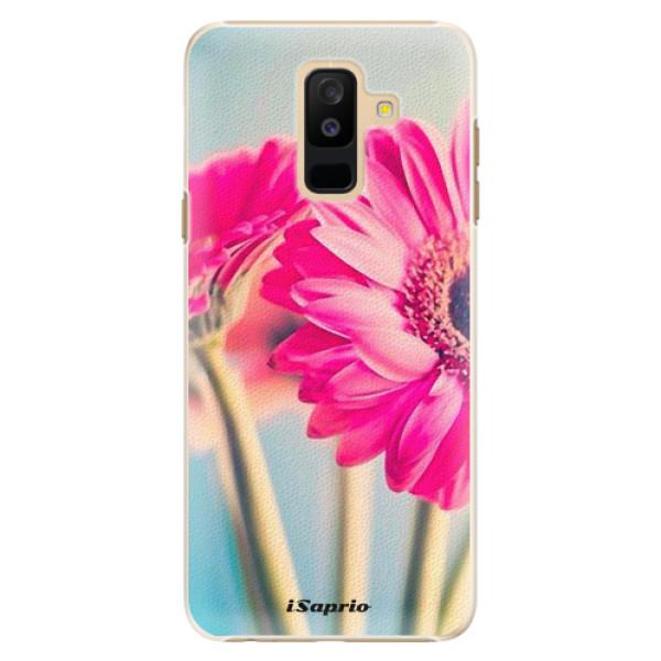Plastové pouzdro iSaprio - Flowers 11 - Samsung Galaxy A6+