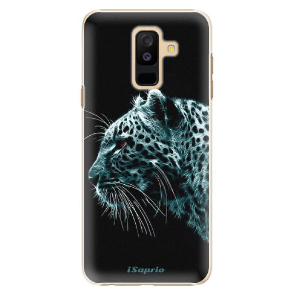 Plastové pouzdro iSaprio - Leopard 10 - Samsung Galaxy A6+