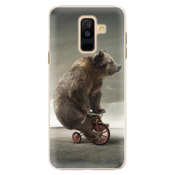 Plastové pouzdro iSaprio - Bear 01 - Samsung Galaxy A6+