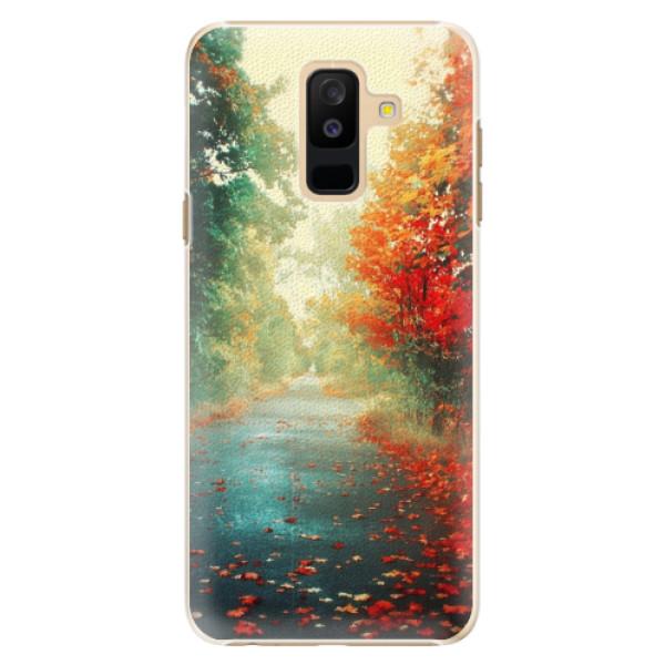 Plastové pouzdro iSaprio - Autumn 03 - Samsung Galaxy A6+