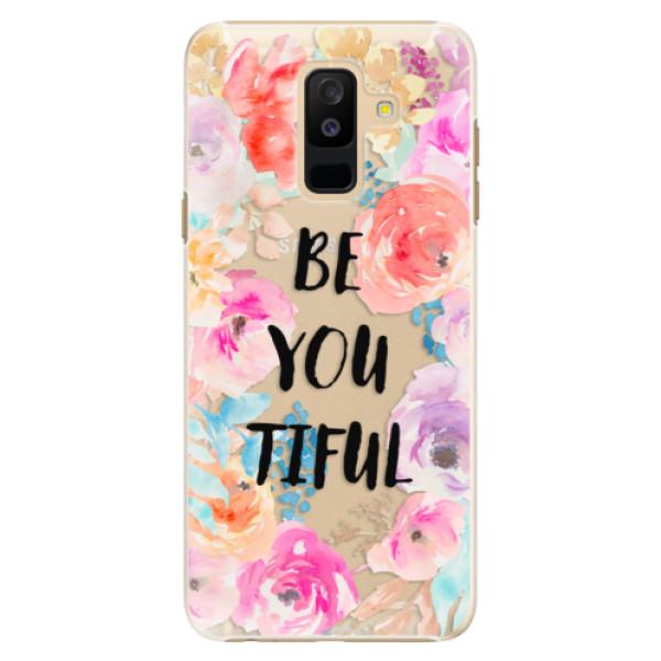 Plastové pouzdro iSaprio - BeYouTiful - Samsung Galaxy A6+