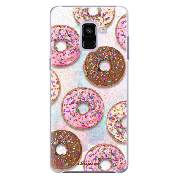 Plastové pouzdro iSaprio - Donuts 11 - Samsung Galaxy A8+