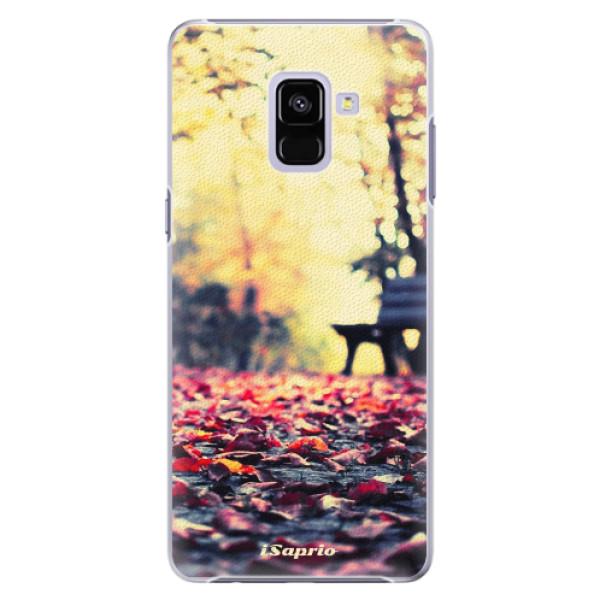 Plastové pouzdro iSaprio - Bench 01 - Samsung Galaxy A8+
